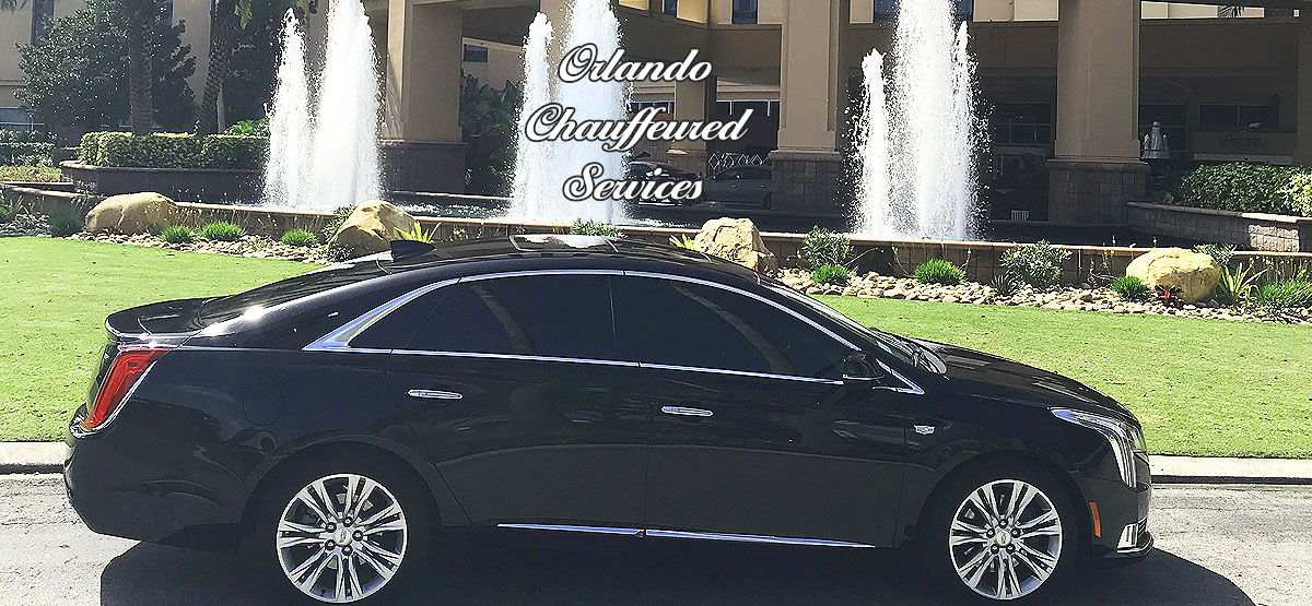 Car Service Transportation SFB to Disney, Orlando, Florida