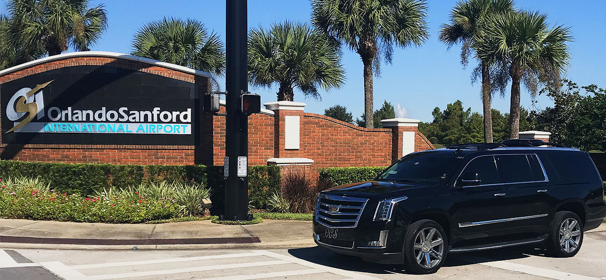 SUV Transportation Sanford Airport to Disney, Orlando, Florida $180.00 TOTAL! Including Gratuity